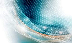 modern vector abstract background and circular grid